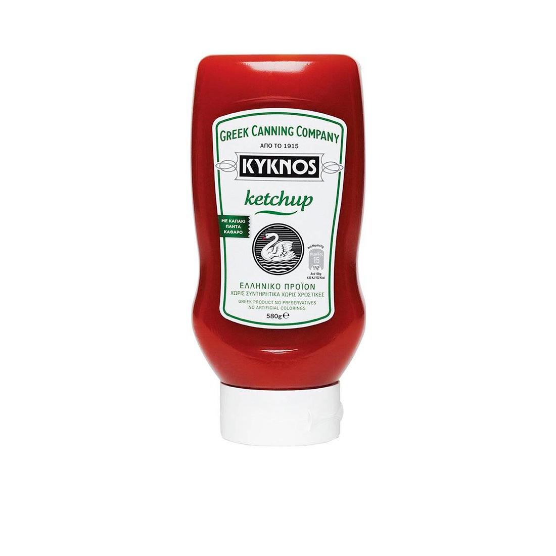 Кетчуп томатный KYKNOS 580г