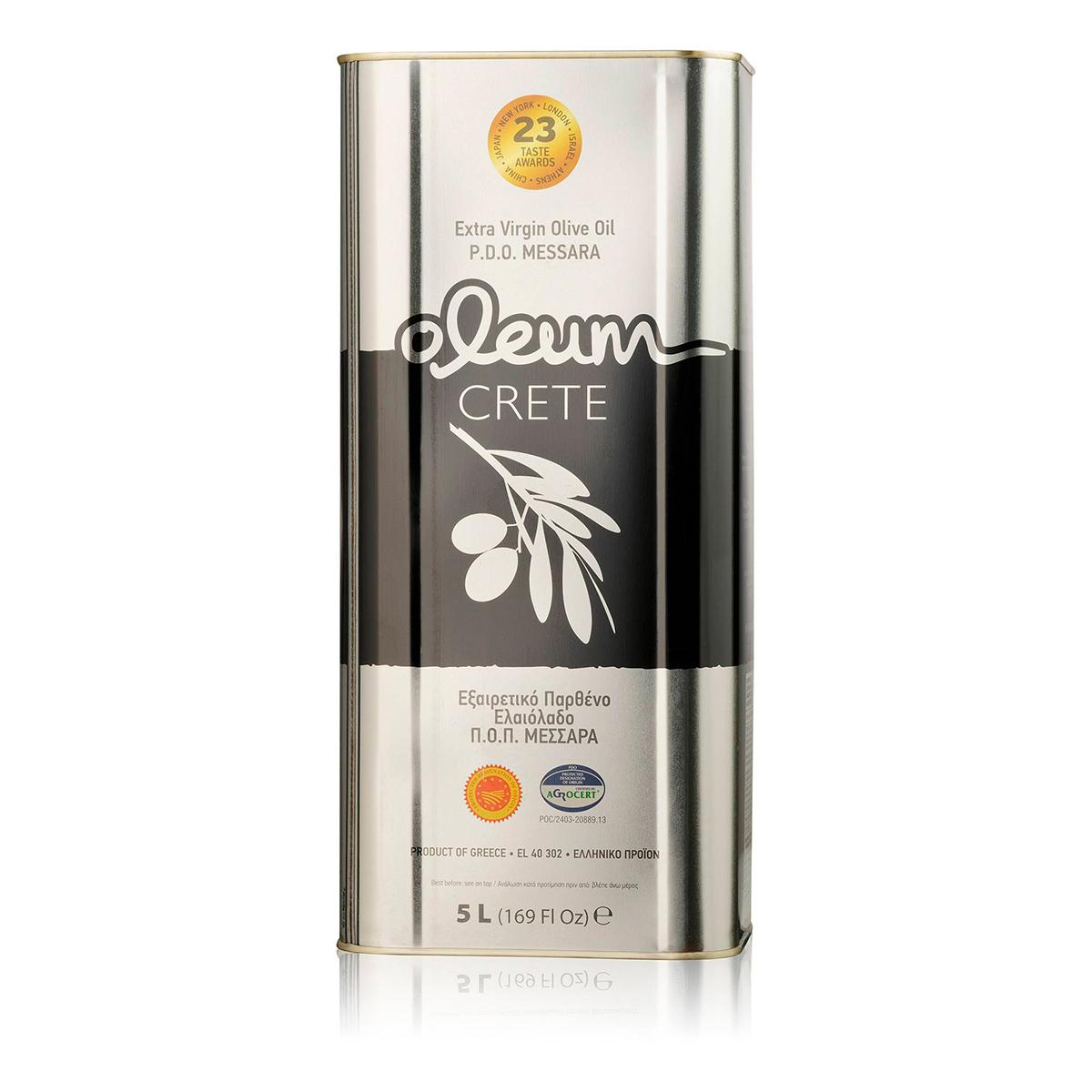 Масло оливковое Extra Virgin OLEUM CRETE P.D.O. 5л