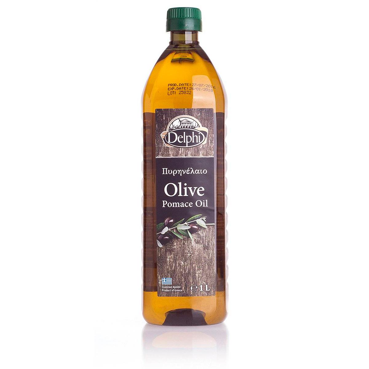 Масло оливковое POMACE DELPHI 1л