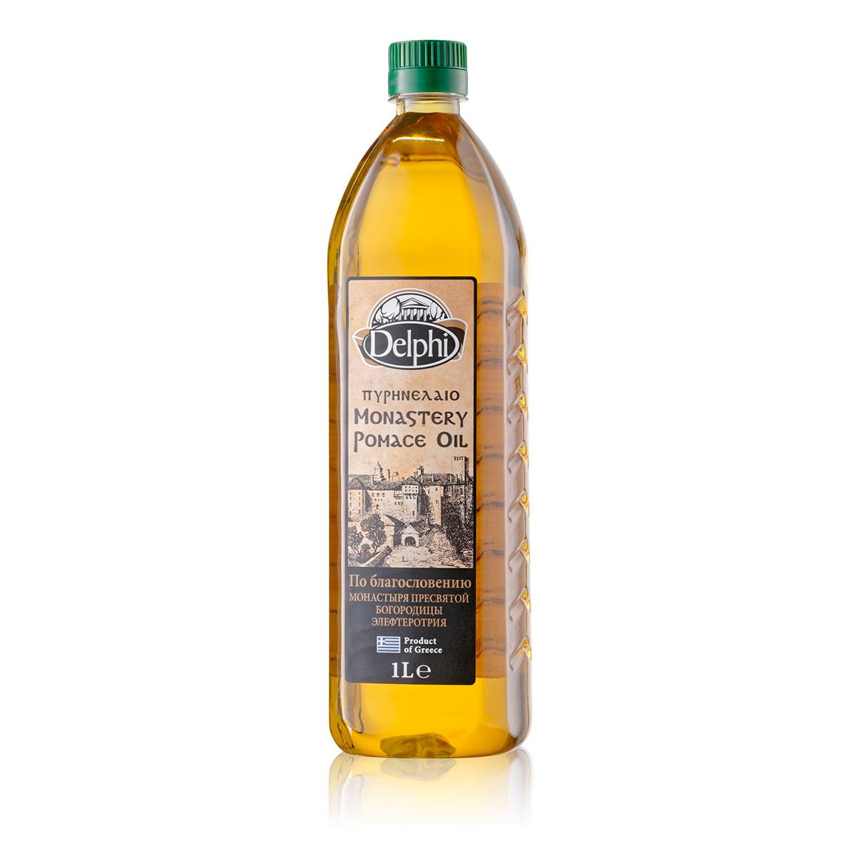 Масло оливковое Помас Монастырское 1л
