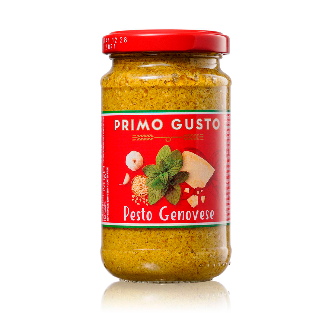 Соус песто по-генуэзски Primo Gusto 190 г
