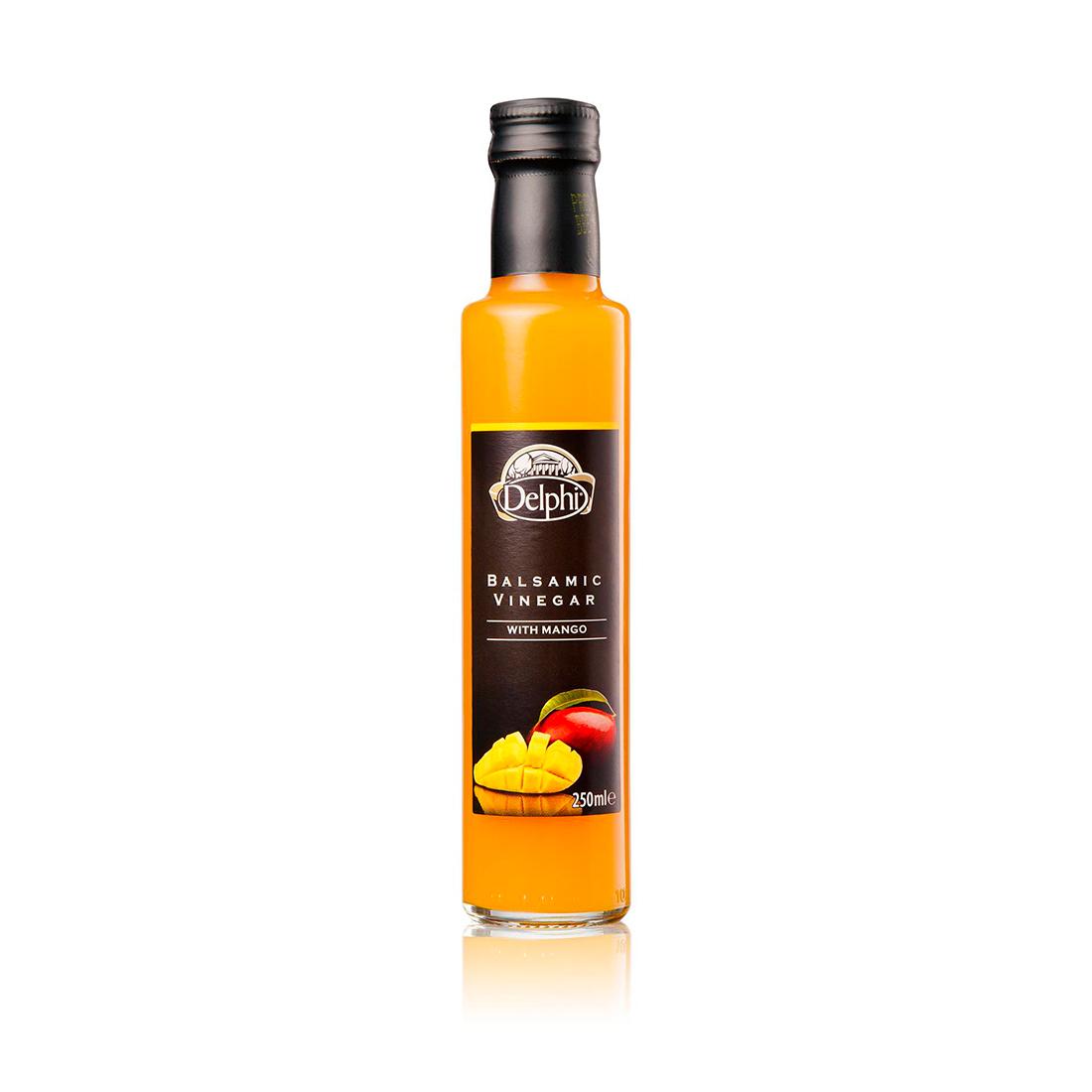 DELPHI Уксус бальзамический с манго, DELPHI 0,25л